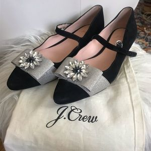 Jcrew fancy flats 38.5